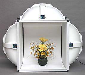 tabletop model tungsten self contained photographic lighting